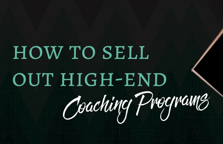 How to fill a high end coaching program or mastermind