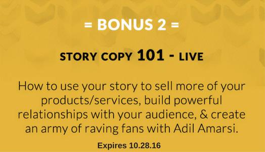 Bonus 2: Story Copy 101