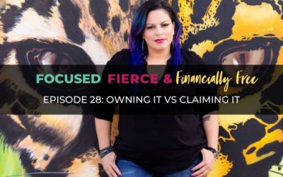 Owning It vs Claiming It