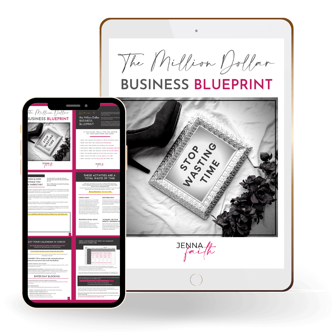 The Million Dollar Business Blueprint