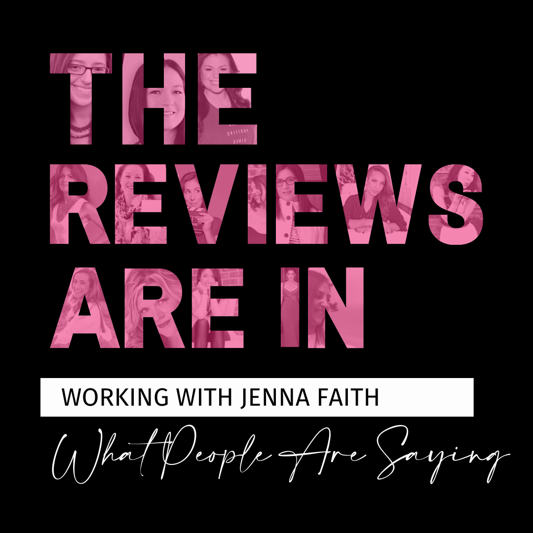 The reviews are in and coaches around the world are raving about 7 Figure Business Coach Jenna Faith