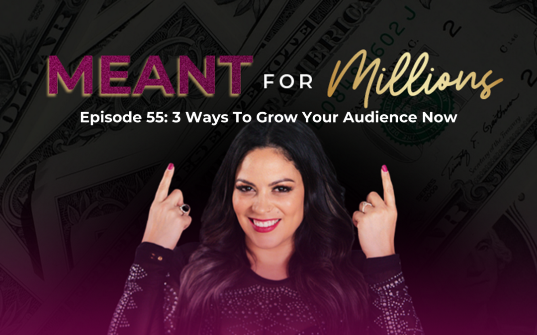 3 Ways to Grow Your Audience Now